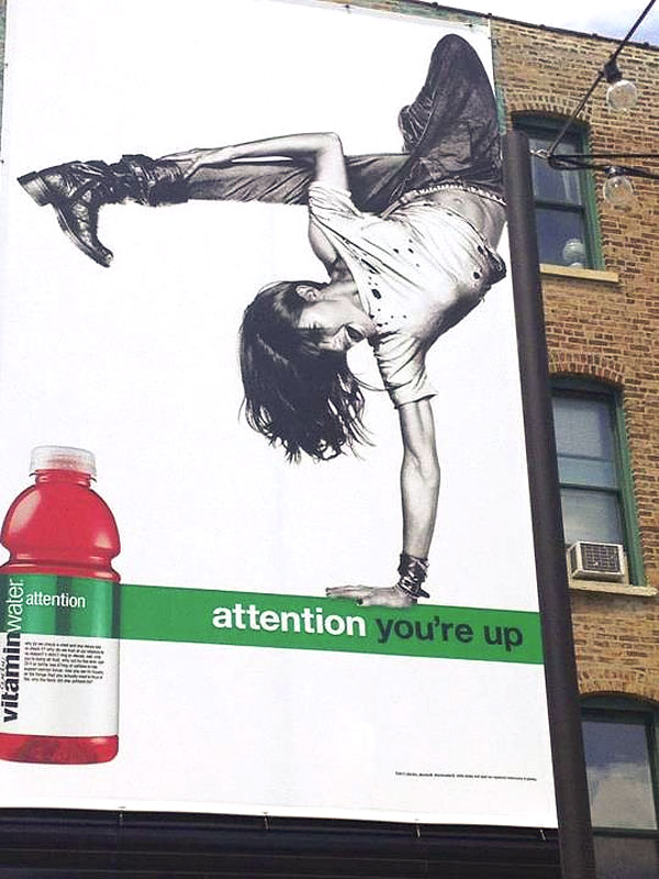 Rachele Brooke Smith Billboard Ad Chicago Vitamin Water