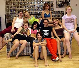 Brian Friedman teaches at Royal Dance Works dance studio as a Master Teacher