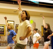 Jackie Sleight teaches at Royal Dance Works dance studio as a Master Teacher