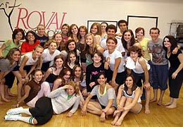 Wes Veldink teaches at Royal Dance Works dance studio as a Master Teacher